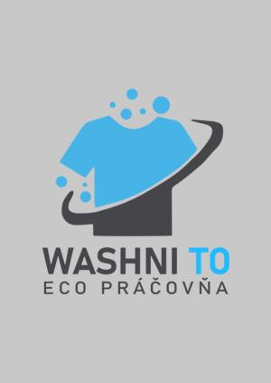 Logo pre eko práčovňu v Bratislave